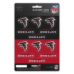New NFL Atlanta Falcons Die-Cut Premium Vinyl Mini Decal / S