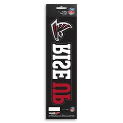 New NFL Atlanta Falcons Die-Cut Vinyl Slogan Decal Pack / Bu