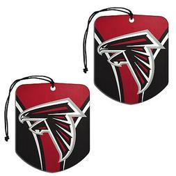 New NFL Atlanta Falcons Paper Hanging Air Freshener 2 pack O