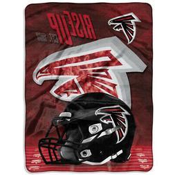 New NFL Atlanta Falcons Silk Touch Plush Super Soft Blanket