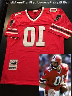 NEW Steve Bartkowski Atlanta Falcons Men's M&N Red/Home Retr