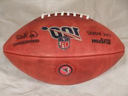 New Team Issue Atlanta Falcons Wilson NFL 100 Years Official