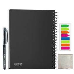 NEWYES dot grid Smart Reusable Erasable Spiral A4 Notebook P