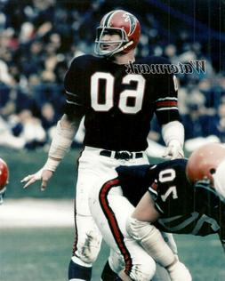 NFL 1968 Atlanta Falcons Linebacker Tommy Nobis Game Action