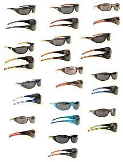 NFL AND NCAA Team SPORT WRAP Sunglasses UV 400 PICK Your Tea