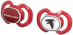 NFL Atlanta Falcons Baby Fanatic 2-Piece Pacifier Set