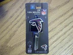 NFL Atlanta Falcons 3D Kwikset house key blank  KW1