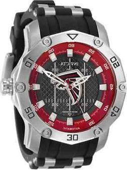 Invicta NFL Atlanta Falcons Automatic Black Dial Men's Watch