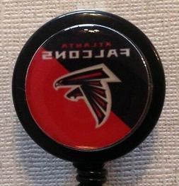 Nfl Atlanta Falcons Badge Reel - Falcons - Falcons Badge - I
