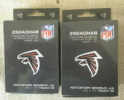 NFL Atlanta Falcons Band-aids -  2 box  50 count per box new