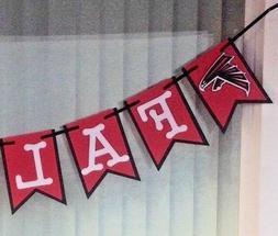 Nfl Atlanta Falcons Banner - Falcons Happy Birthday Custom N
