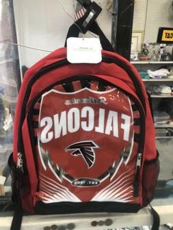 NFL Atlanta Falcons book bag red & black