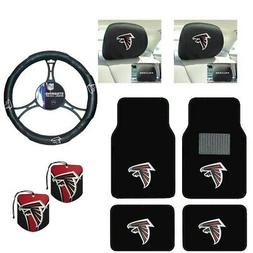 NFL Atlanta Falcons Car Truck Floor Mats Steering Wheel Cove