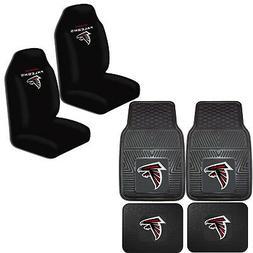 NFL Atlanta Falcons Car Truck Front Back Rubber Floor Mats &