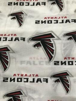 "NFL Atlanta Falcons Football cotton fabric 1/4 yd, 9"" x 58"""