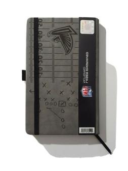 NFL Atlanta Falcons Laser Engraved Leather Style Notepad Gre