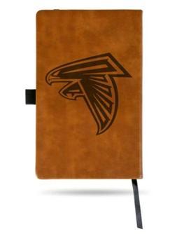 NFL Atlanta Falcons Laser Engraved Leather Style Notepad Bro