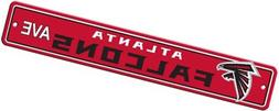 NFL Atlanta Falcons Plastic Street Sign