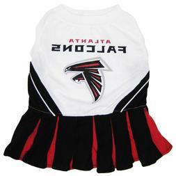 NFL Atlanta Falcons Sport Pet Dog Cheerleader Dress NFL
