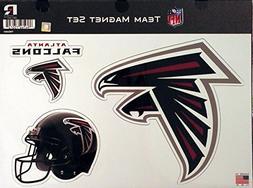 "Rico NFL Atlanta Falcons NFL Team Magnet Sheet, black, 11"" x"
