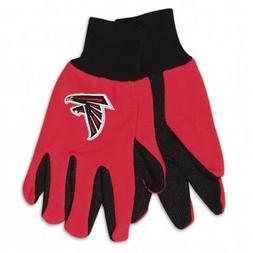 NFL Atlanta Falcons Two-Tone Gloves, Red/Black