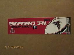 NFL Atlanta Falcons Vintage 2016 NFC Champions Team Logo Bum
