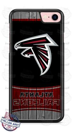 NFL Atlanta Falcons Wooden Tread Logo Phone Case Cover For i