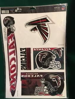 "NFL Atlanta Falcons11""X17"" Sheet of  Multi Decals"
