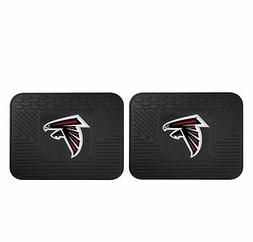 NFL - Atlanta Falcons Backseat Utility Mats 2 Pack 14x17
