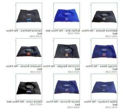 """NFL Embroidered Pet Pillow Bed 30""""x20""""x4 by Pets First, Inc"""