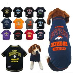 NFL Fan Gear Dog Shirt Tee for Pets Dogs PICK YOUR TEAM BIG