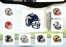 NFL Football Helmet Auto Ornament for Mirror or Antenna Topp
