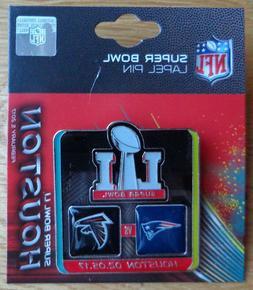 NFL Lapel Pin 2017 Super Bowl LI 51 Team Atlanta Falcons - N