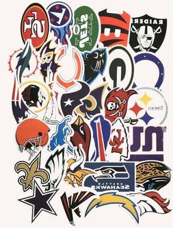 NFL TEAM LOGO DIE CUT VINYL STICKERS CHOOSE YOUR TEAM OR SET