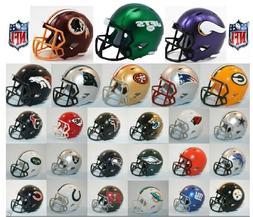 NFL Riddell NFL SPEED POCKET PRO Mini Helmet - PICK YOUR TEA