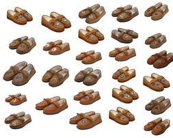 NFL Tan Moccasin Hard Rubber Sole Men's Slippers Moccasins