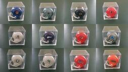 NFL Vintage Gumball MINI Helmets w/ NEW Display Box CHOICE C