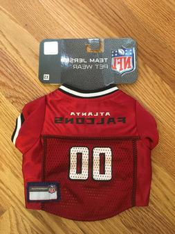 NWT Atlanta Falcons Dog Jersey - NFL Pet Apparel XS