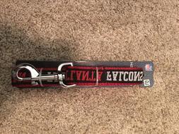 NWT Atlanta Falcons NFL PET DOG LEASH Large 6ft x 1ft