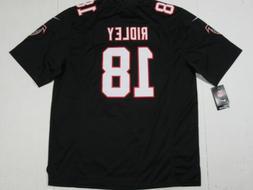 NWT Calvin Ridley #18 Atlanta Falcons Mens Game Sewn Jersey