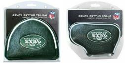 NY New York Jets NFL Blade or Mallet Putter Golf Club Head C