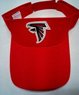 Read Listing! Atlanta Falcons Heat Applied FLAT LOGO on Red