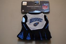 TENNESSEE TITANS Girl Size XS New NFL Dog Cheerleader Dress