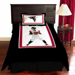 Twin Atlanta Falcons Matt Ryan Bedding Comforter Set NFL Tea