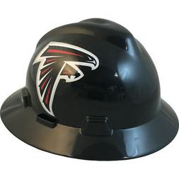 "MSA V-Gard FULL BRIM ATLANTA ""FALCONS"" NFL Hard Hat Type 3 R"
