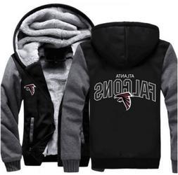 New Hot Thicken Hoodie Team Atlanta Falcons Warm Sweatshirt